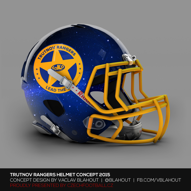 Trutnov Rangers helma - Koncept Blahout
