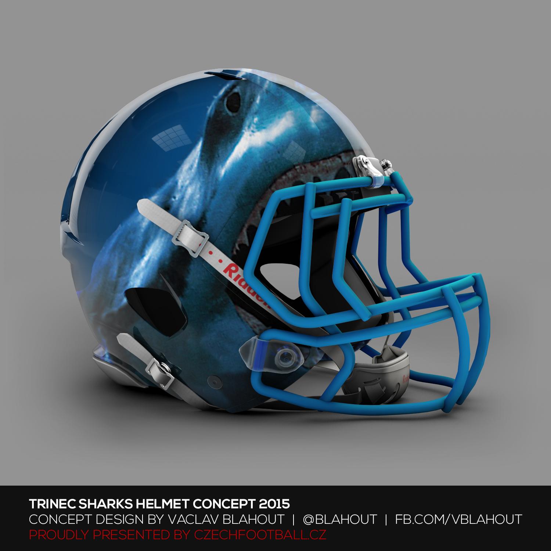 Potkat někoho s touhle helmou, tak se opravdu bojím, že mi tu hlavu chce ukousnost :)