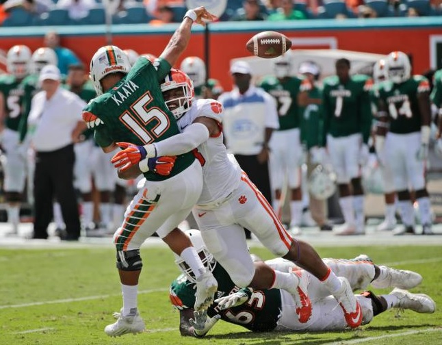 Clemson vs Miami
