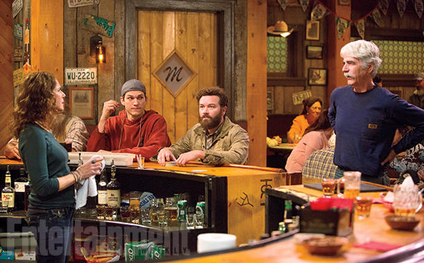 Zleva Maggie (Debra Winger), Colt (Kutcher), Rooster (Danny Masterson) a Beau (Sam Elliott) Foto: Patrick Wymore/Netflix