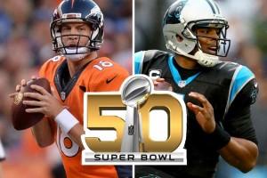 Peyton Manning vs. Cam Newton, quarterbeci v Super Bowlu